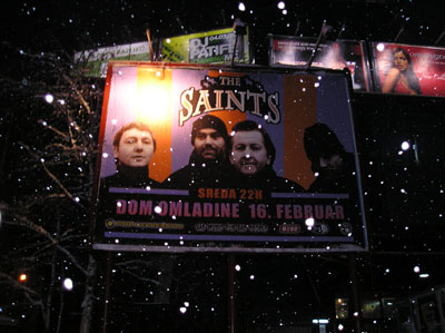 The Saints in Belgrade